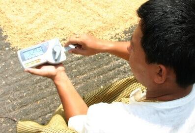 alat pengukuran kadar air bijian