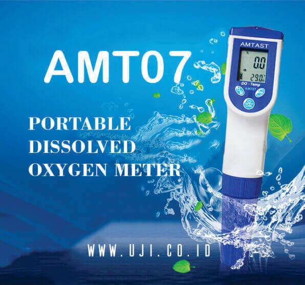 Alat Ukur DO Meter Air Portable AMT07