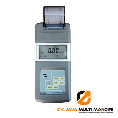 engukur Getaran Digital AMTAST TIME7212 Vibration Meter