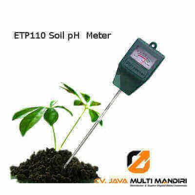 Jual Alat Pengukur pH Tanah ETP110